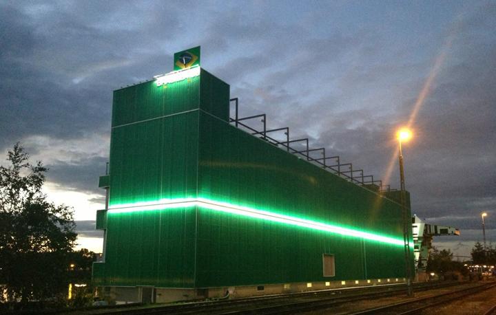 Aussenbeleuchtung Fassade led engineering aussenbeleuchtung